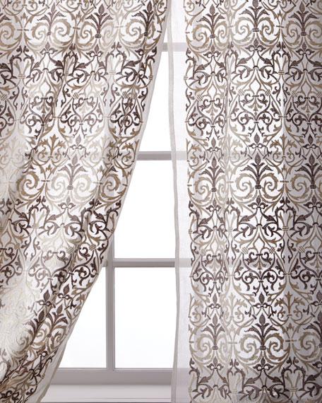 """Abound Cotton Organdy Curtain, 96"""""""