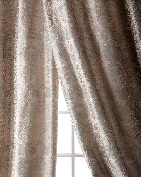 Abound Taffeta Curtain, 108""