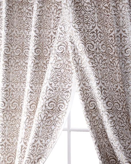 """Kashaya Linen/Cotton Curtain, 96"""""""