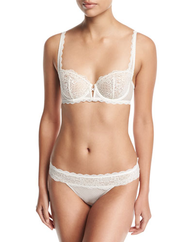 Flirt Lace Demi Bra and Matching Items