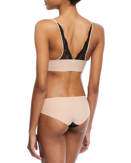 Bella Admiring Lace-Trim Bikini Briefs