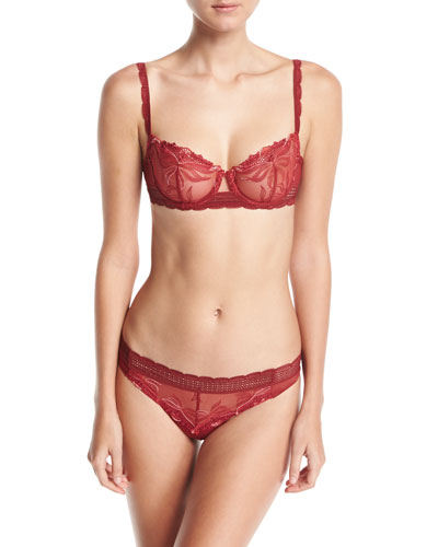 Kiss Lace Thong and Matching Items