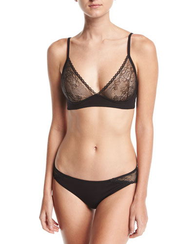 Gracen Lace Triangle Bra and Matching Items