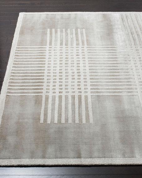 Laddie Hand-Loomed Rug, 6' x 9'