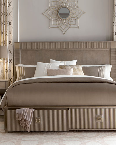 Ellisa King Storage Bed and Matching Items