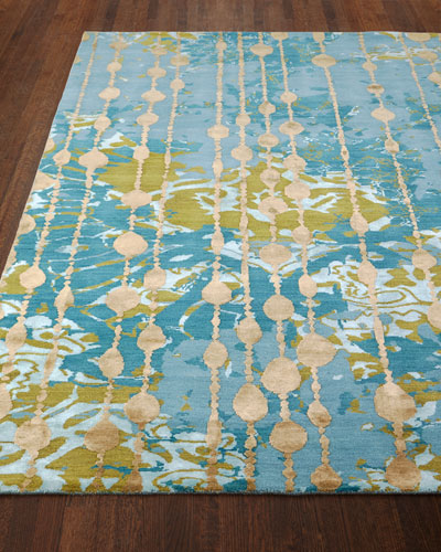 Butterfly Dream Hand-Knotted Rug, 8' x 10' and Matching Items