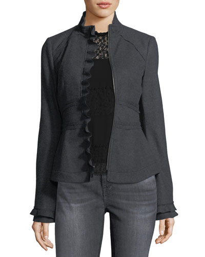 Jezebel Long-Sleeve Semi-sheerChiffon Blouse and Matching Items