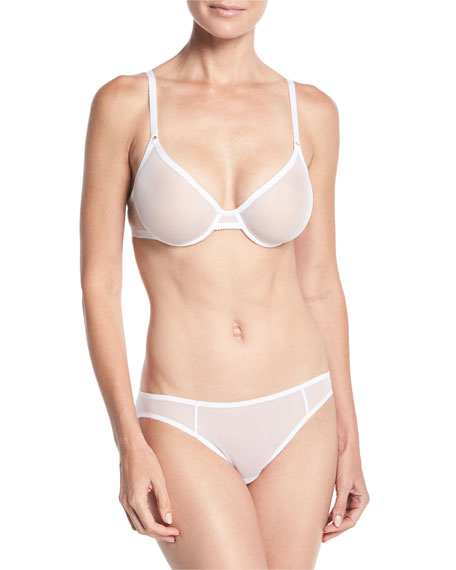 Revelation Beaute Sheer Mesh Molded Bra