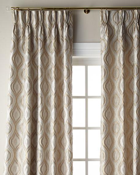 "Everleigh Curtain, 132""L"
