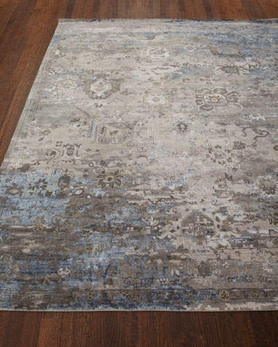 Mayley Vintage Hand-Knotted Rug  6' x 9' and Matching Items