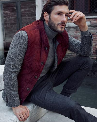 Para Wool Cargo Pants, Dark Gray and Matching Items