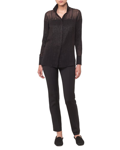 Melissa Crepe Skinny Pants and Matching Items