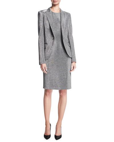 Lurex® Sleeveless Cocktail Sheath Dress and Matching Items