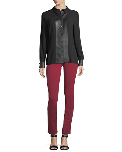 Stretch-Denim Skinny Jeans and Matching Items