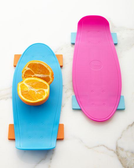 Skate Cutting Board, Pink