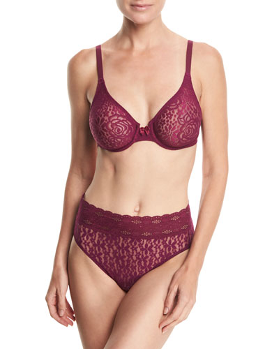 Halo Lace High-Cut Briefs and Matching Items