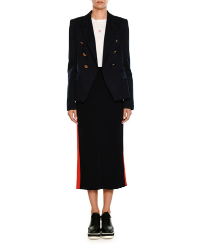 Peak Faux Double-Breasted Tailored Blazer and Matching Items