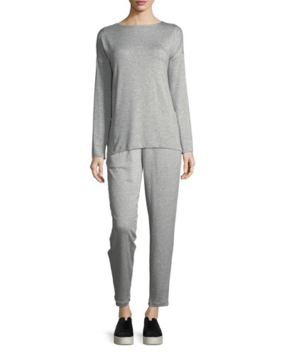 Terry Slouchy Ankle Pants  and Matching Items