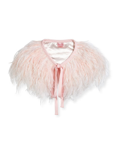 Feather Capelet, Size XXS-6X and Matching Items