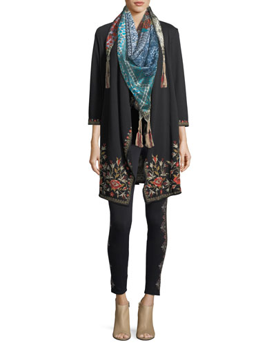 Voloom Floral-Print Silk Scarf and Matching Items