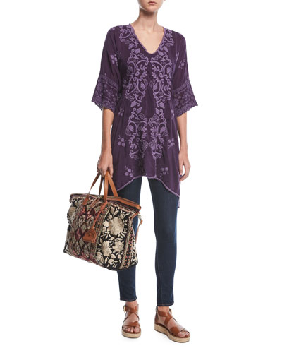 Morno Rayon Georgette Top, Plus Size  and Matching Items