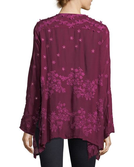 Blossom Rayon Georgette Blouse