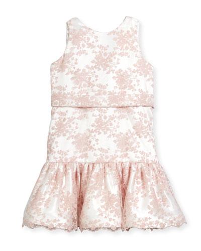 Drop-Waist Lace Dress, Size 12-18 Months  and Matching Items