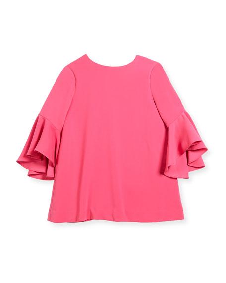 Italian Cady Nicola Dress, Size 4-7