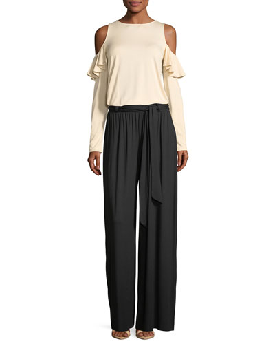 Gibson Wide-Leg Drama Pants  and Matching Items