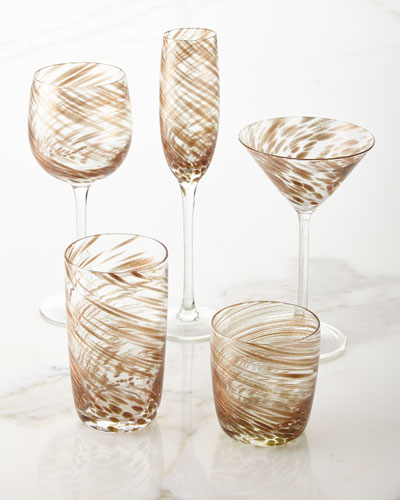 Misty Wine Goblets, Set of 4 and Matching Items