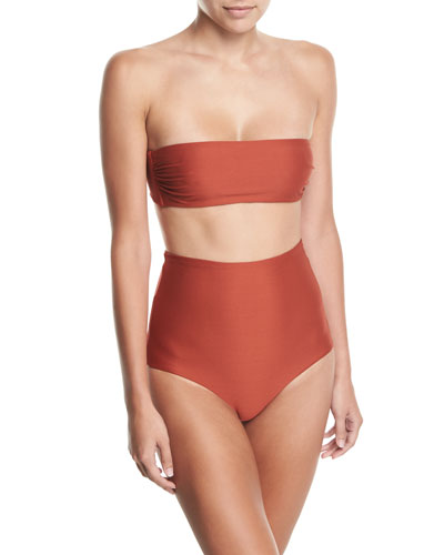Abigail Bandeau Bikini Swim Top and Matching Items