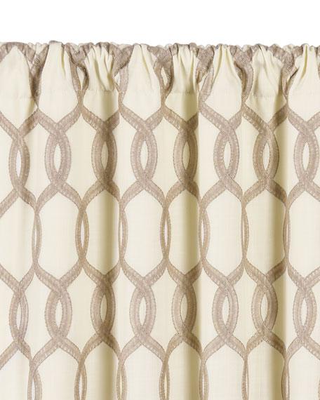 """Gresham Rod Pocket Curtain Panel, 108""""L"""