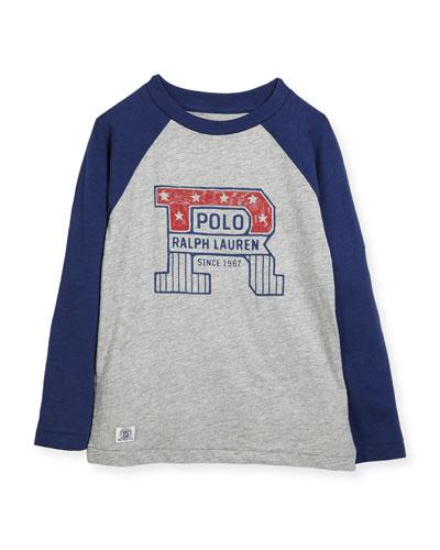 Slub Jersey Cotton Baseball T-Shirt, Size 2-4 and Matching Items