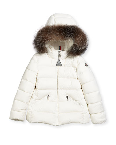 Aimeet Quilted Coat w/ Fur Hood, Size 4-6 and Matching Items