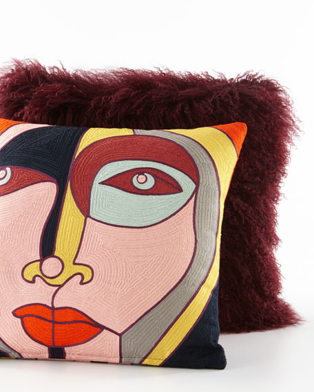 "Paloma Pillow, 20""Sq."