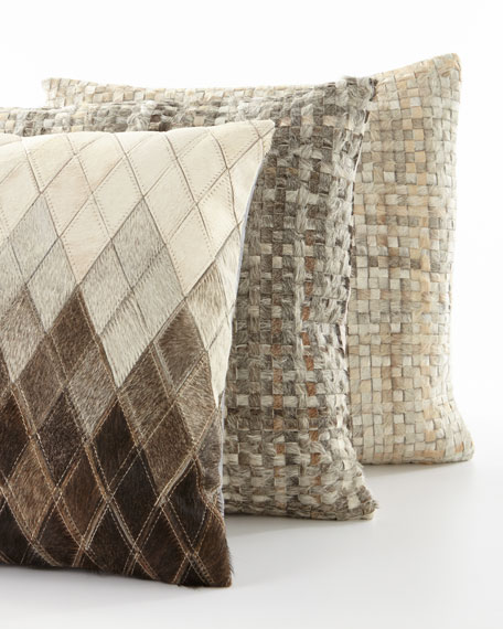Basketweave Pillow