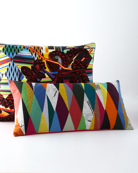 Kinetic Mystic Arlequin Pillow