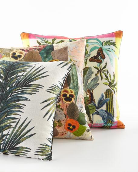 Herbor-hysteria Multicolored Pillow