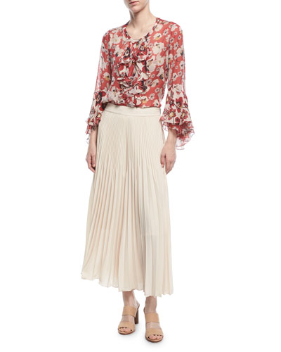 Eden Pleated Wide-Leg Pants and Matching Items