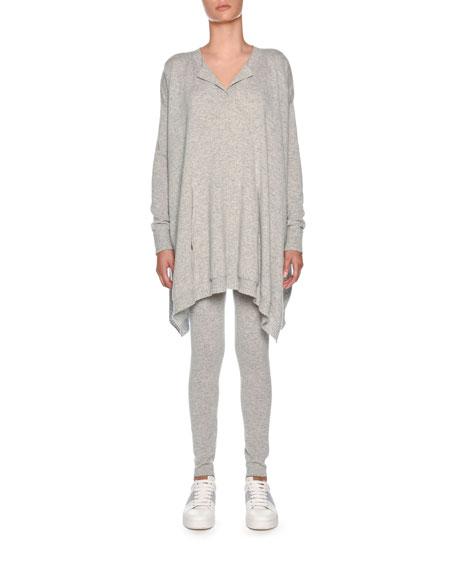 Cashmere Poncho Sweatshirt