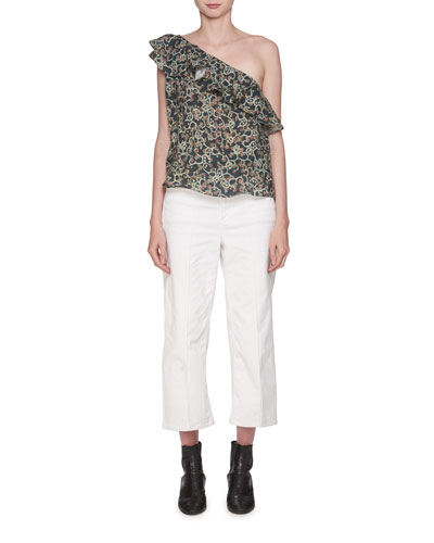 Cabrio High-Waist Wide-Leg Jeans and Matching Items