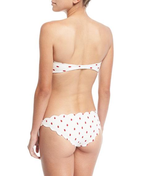 Antibes Scalloped Swim Bikini Bottom
