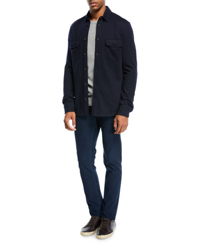 Five-Pocket Slim-Fit Pants and Matching Items