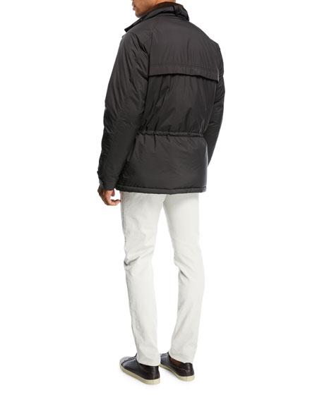 Five-Pocket Slim-Fit Pants