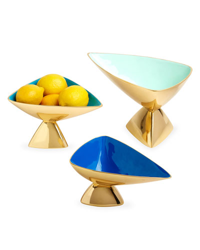 Cantilever Enamel Bowl, Small  and Matching Items