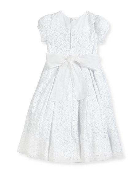 Gala Organdy Lace Dress, Size 2-3