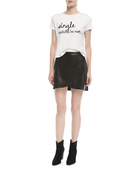 Rylyn Crewneck Embroidered Short Tee