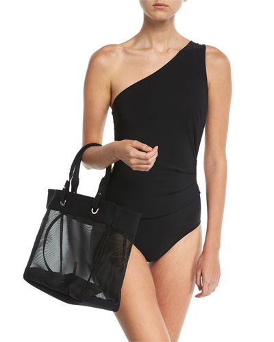Teti One-Shoulder Cutout Swimsuit and Matching Items