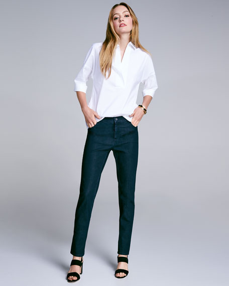 Thompson Colored Slim-Leg Jeans