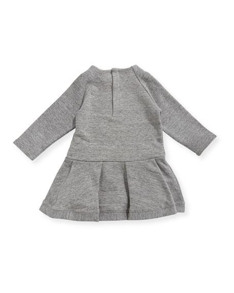 Soft Chic Long-Sleeve Dress, Size 2-3